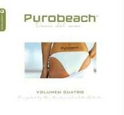 Purobeach Vol. 4 (Cuatro) 2 Cd New!