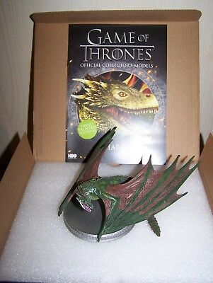 Game of Thrones - Figurine Dragon Rhaegal - Eaglemoss