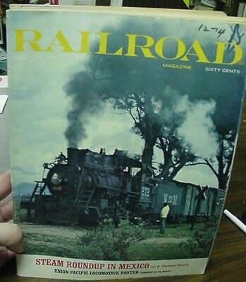 Railroad Magazine Complete Year 1971 12 issues