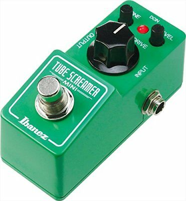 Ibanez Tube Screamer Mini Overdrive for Guitar TSMINI Japan import