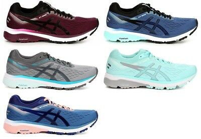 853a4a8e ASICS GT-1000 7 Womens Running Shoes Sneakers Medium And Wide Blue Grey Ice