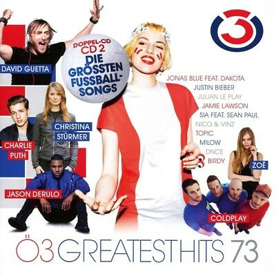 Ö3 Greatest Hits Vol.73  2 Cd New! Queen/Xavier Naidoo/Europe/Coldplay/+
