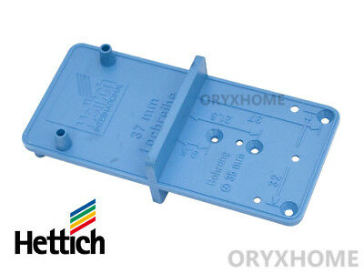 Original HETTICH MultiBlue hole marking jig (for hinges,mounting plates & other)