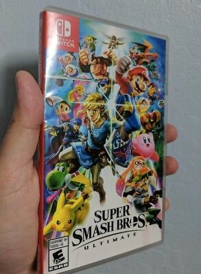 Super Smash Bros. Ultimate Ultimate (Nintendo Switch, 2018) — Ships FAST!