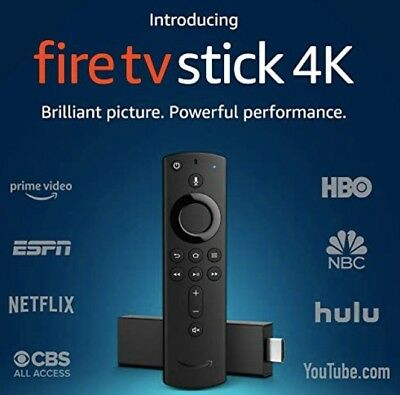 Amazon Fire TV Stick 4K with all-new Alexa Voice Remote, streaming media player