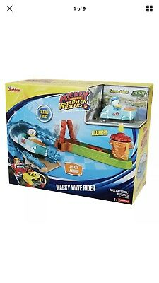 Disney Jr. Mickey And The Roadster Racers Donald Ducks Wacky Wave Rider launcer