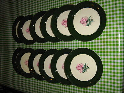 Pair of Taylor Smith Taylor Bread & Butter Plate - Pattern TST15