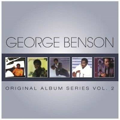 George Benson - Original Album Series Vol.2 5 Cd New!