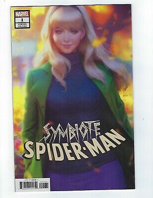 Symbiote Spider-Man # 1 Stanley ARTGERM Lau Variant NM Marvel Pre Sale Apr 10th