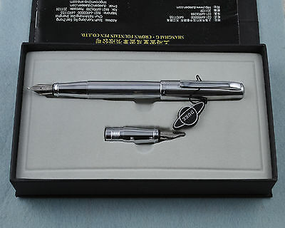 Duke 209-1 Steel Calligraphy & Fountain Pen Set With 2 Nibs With Old type Box