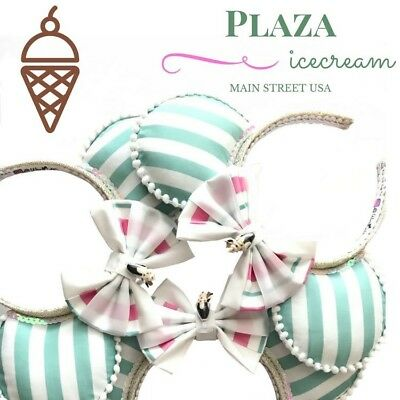 NEW Plaza Ice Cream Minnie Mouse Ears (small shop, not authentic)