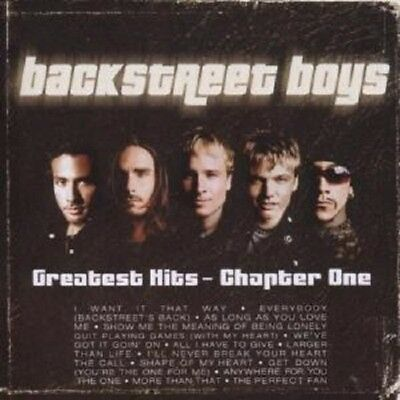 "Backstreet Boys ""Greatest Hits-Chapter 1"" Cd New!"