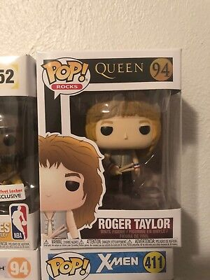 2018 Funko POP! Rocks Queen ROGER TAYLOR #94 Figure NIB