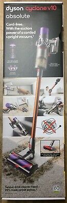 Dyson Cyclone V10 Absolute Cordless Bagless Stick Vacuum(Factory Sealed Never Op