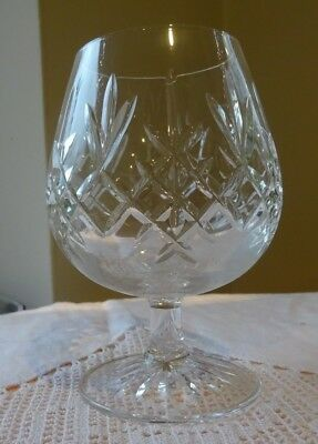 Edinburgh Crystal Lomond Brandy Glass, signed