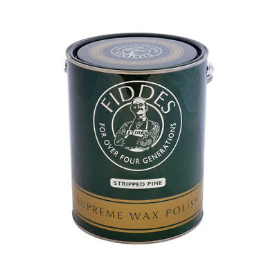 FiddesStripped Pine Supreme Furniture Wax Polish 5litre