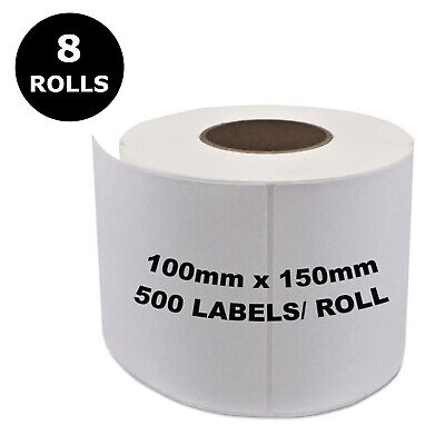 Direct Thermal Shipping 100x150mm 4x6 Label 4 Fastway Startrack eParcel x 5000