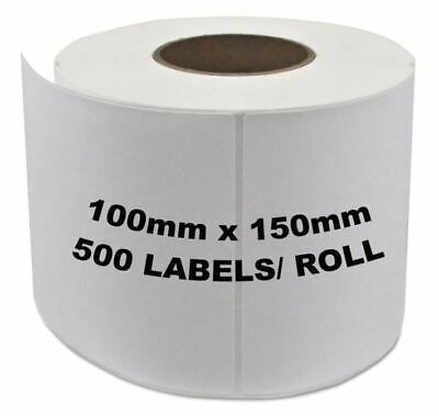 Direct Thermal Shipping 100x150mm 4x6 Label 4 Fastway Startrack eParcel x 10000
