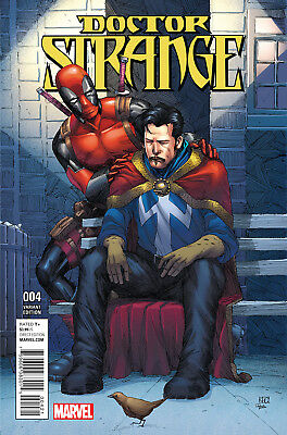 Doctor Strange #4 Deadpool Variant - Marvel -  Bagged And Boarded. Free Uk P+P