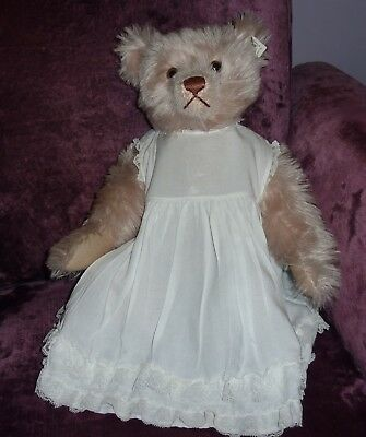 Baby's Vintage White Cotton  & Lace Petticoat~Display On Doll Or Bear~