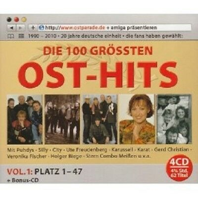 Die Ultimative Ostparade Top 100 (Vol. 1) 4 Cd Box New!