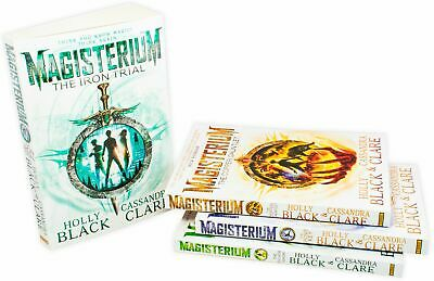 Holly Black & Cassandra Clare Magisterium 4 Book Collection, The Bronze Key, The