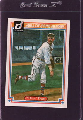 "1983 Donruss Hall Of Fame Heroes #29 ""Dizzy"" Dean Mint *101369"