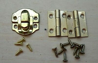 Small box catch, Hinges & Screws