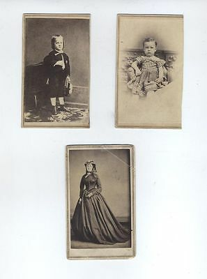 Ball Thomas 19Th Century African American Artist Cdv Photos Three  Fantastic!!!