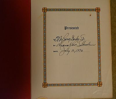 1976 MOTOWN DIANA ROSS Bible signed to BERRY GORDY SR  Detroit gift