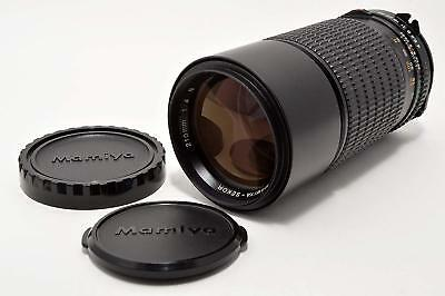 MAMIYA-SEKOR C 210mm F4.0 N MF ZOOM Lens With hood in a case # 28
