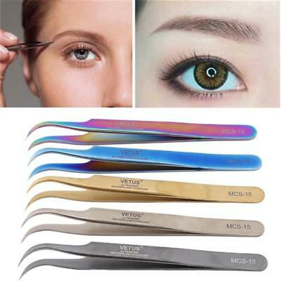 Eyelash Extension Tweezers for Various Volume Lashes Extensions L-Type Tools 6L