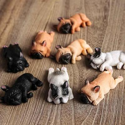 Table Decoration Drowsy Cute French Bulldog Resin Ornaments Room Decor