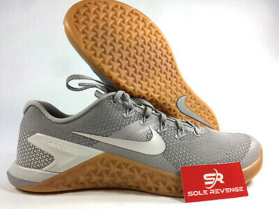 d143c5a2bea2 NEW! 10 Nike Metcon 4 ah7453-007 Atmosphere Gray   Gum Cross Training Shoes