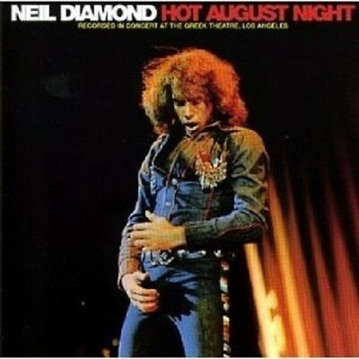 Neil Diamond - Hot August Night (Remastered)  2 Cd  25 Tracks American Pop  New!