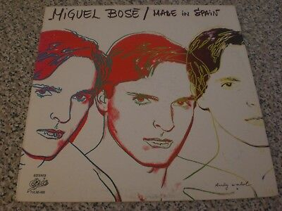 MIGUEL BOSE' MADE IN SPAIN Edizione MESSICO Andy Warhol Artwork