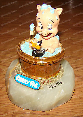 Looney Tunes, Porky Pig, Daffy Duck (Ron Lee, LT115) L.E. 490 of 2,750 (1991)