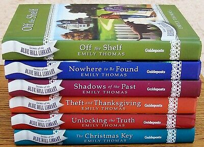Guideposts-Secrets Of The Blue Hill Library Series-1,2,3,4,5,&6-By:emily Thomas