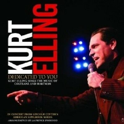 "Kurt Elling ""Dedicated To You-Elling Sings Coltrane & Hartman"" Cd New!"