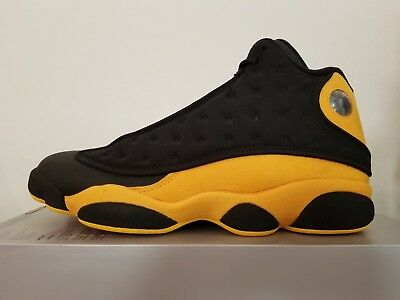 ffb60e4be8caf0 New Nike Air Jordan 13 XIII Retro Melo Class of 2002 Black Yellow Red 414571 -