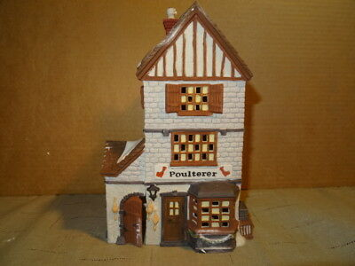 Dept. 56 Heritage Dickens' Village Series Poulterer House #5926-9 with Box