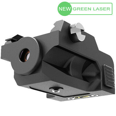 LASPUR Mini Tactical Low Profile Rail Mount Rechargeable Green Laser Sight