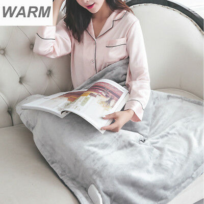 105x85CM Electric Heating Blanket Pad Washable Fast Warming Gear with Control