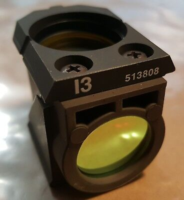 Leica I3 Fluorescence Filter Cube 513808 11513808 from DM RBE Confocal