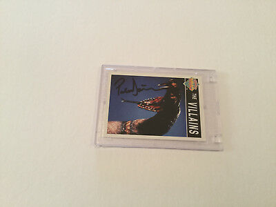 Dr. Who Peter Davison Hand Signed Trading Card**TAKE A LOOK**