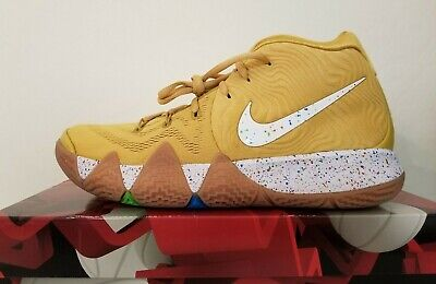 1b9d569804ca Nike Kyrie 4 Cereal Pack Cinnamon Toast Crunch CTC BV0426-900 Men s Size 9.5