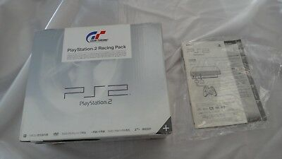 SONY PlayStation 2 Console BOX Racing Pack Gran Turismo PS2 Japan SCPH-55000 GT