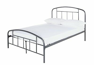 50ad5d8ee1d9 ARGOS HOME PIPPA Dark Grey Small Double Bed Frame - £109.00 ...