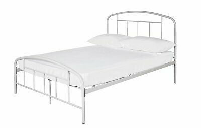 cf905bf2742f ARGOS HOME OLIVER Grey Small Double Fabric Bed in a Box - £129.99 ...