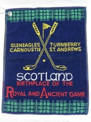 Scotland Birthplace of the Royal and Ancient Game Golf Towel 47 cm x 37 cm